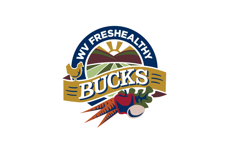 WV FresHealthy Bucks Logo