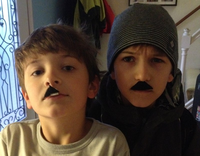 Photo of James and Laurel's sons when they were younger.